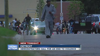 Detroiters drive across the city for peace