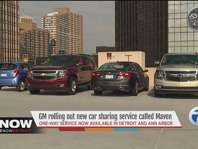 General Motors Launches Car Sharing App Maven Wxyz General Motors News Newslocker