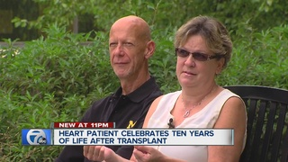 Man celebrates new life after getting new heart