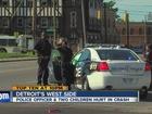 Detroit police officer, 2 kids injured in crash