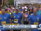 Cancer walk/run event today to benefit St. Jude