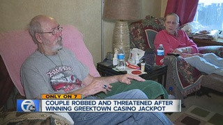Couple robbed after winning casino jackpot
