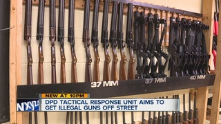 DPD unit gets illegal guns off the street