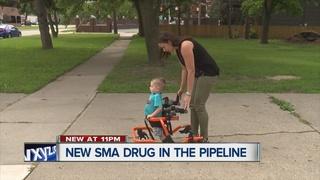 FDA considering new drug to treat SMA