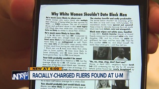 Racially charged fliers found at U of M