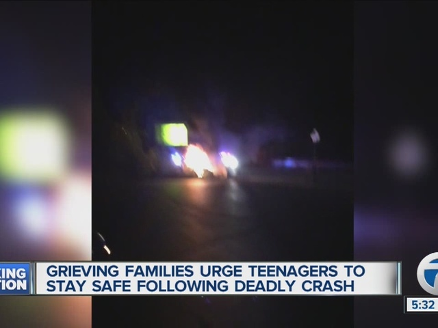 Grieving families urge teenagers to stay safe following deadly