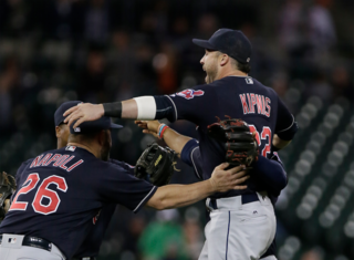 Indians clinch division, Tigers keep sliding