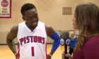 One-on-one with Pistons guard Reggie Jackson
