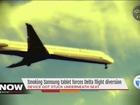 Smoking tablet diverts Delta flight from Detroit