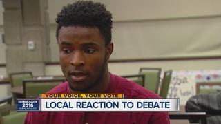 Millennial voters say debate didn't sway them