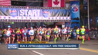 Running a marathon? You could win free sneakers