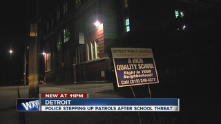 Threat made against Detroit's public schools