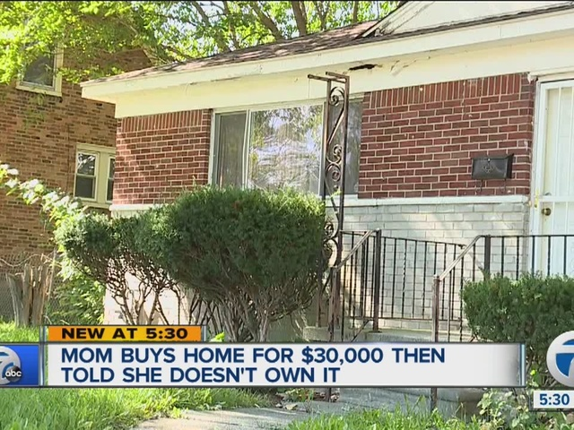 Detroit mom told she doesn't own home she paid for