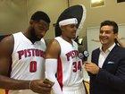 Drummond invades Harris' interview with Galli