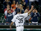 Tigers rout Indians, pull within one game of WC
