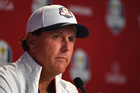Mickelson promises prepared US team at Ryder Cup