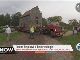Donors work to save and move historic chapel