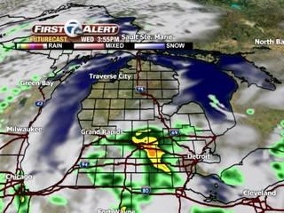 FORECAST: More rain overnight