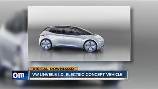 Volkswagen unveils I.D. electric concept vehicle