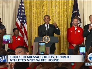 VIDEO: Flint's Shields gets shoutout from Obama