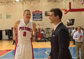 Pistons' Ellenson: