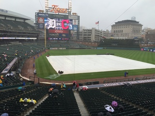 Rain pushes Tigers last home game to Monday