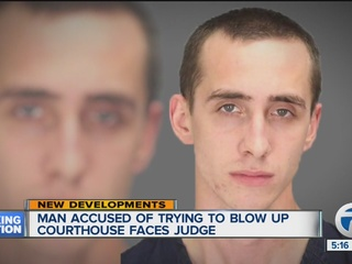 Man appears in court after threats to judge