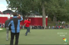 Heckler nails putt during Ryder Cup, wins $100