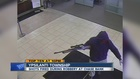 Police search for bank robber who fired shots