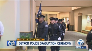 Detroit police welcome new graduating class