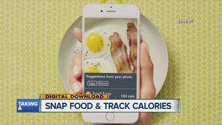 App lets you snap a pic to track your calories