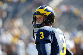Maturing QBs to be tested when U-M hosts Wisc.