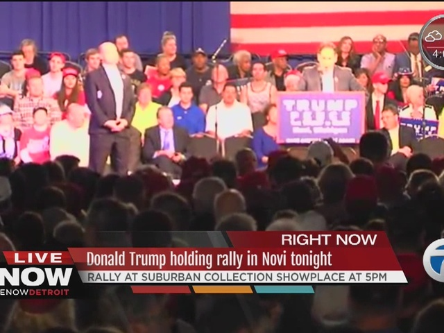 Donald Trump expected to hold rally in Novi