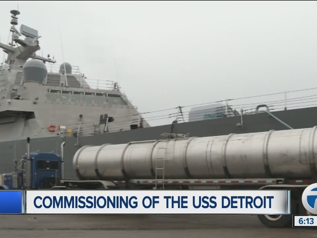 Inside the USS Detroit