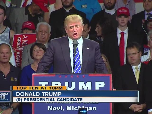 Trump in Novi