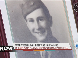 World War II hero from Pontiac laid to rest