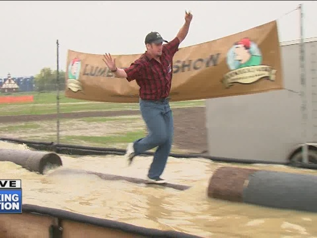 Lumberjack shows at CARtoBEERfest