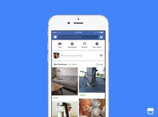 Buy or sell items using Facebook's Marketplace