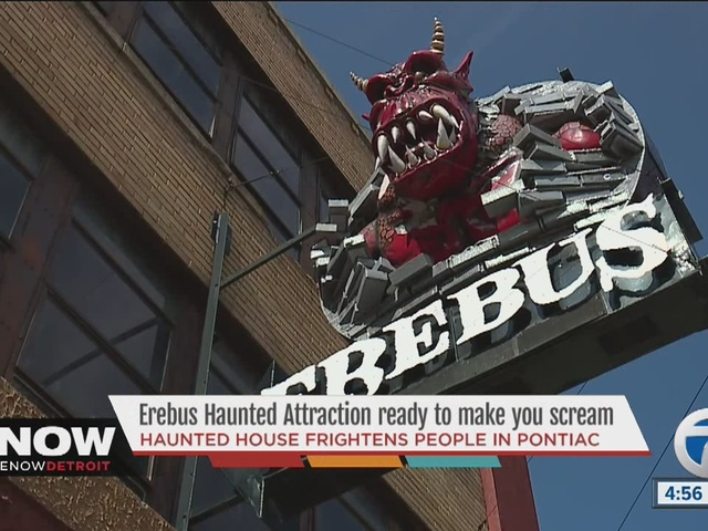 Pontiac's Erebus haunted house is ready to scare patrons