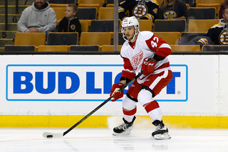 Detroit Red Wings re-sign forward Martin Frk