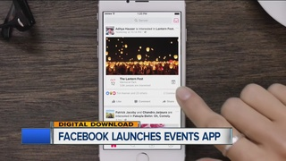 Looking for events? Facebook's new app can help