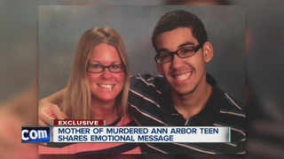 Mother of murdered teen speaks out