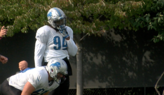 Lions DE Ziggy Ansah returns to practice