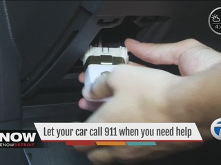 An app calls 911 if you're in an accident