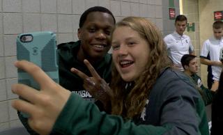 MSU basketball celebrates Midnight Madness