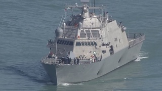 USS Detroit put into commission on Saturday