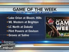 Walled Lake W. vs. Brighton is Game of the Week