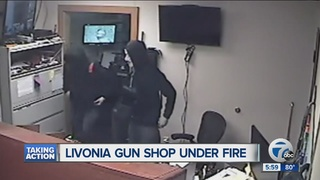 Neighbors concerned about Livonia gun shop
