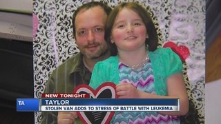 9-year-old cancer patient's van stolen from home