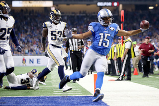 Golden Tate stepping up for Lions